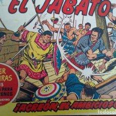 Tebeos: EL JABATO - 52 TEBEOS ORIGINALES APAISADOS ENCUADERNADOS. Lote 103872315