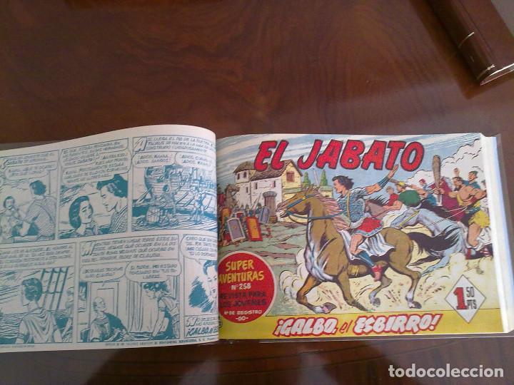 Tebeos: EL JABATO - 52 TEBEOS ORIGINALES APAISADOS ENCUADERNADOS - Foto 4 - 103872315
