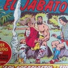 Tebeos: EL JABATO - 52 TEBEOS ORIGINALES APAISADOS ENCUADERNADOS . Lote 103872475