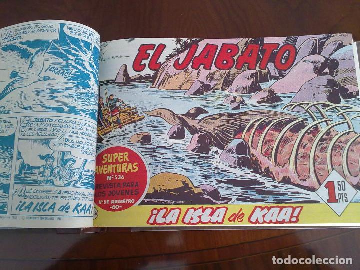 EL JABATO - 50 TEBEOS ORIGINALES APAISADOS ENCUADERNADOS (Tebeos y Comics - Bruguera - Jabato)