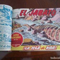 Tebeos: EL JABATO - 50 TEBEOS ORIGINALES APAISADOS ENCUADERNADOS . Lote 103872727