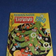 Tebeos: (M10) TIO VIVO ALMANAQUE 1960 , EDT BRUGUERA, SEÑALES DE USO. Lote 103918399
