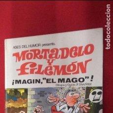 Tebeos: ASES DEL HUMOR 12 - MAGIN, EL MAGO - IBAÑEZ - CARTONE. Lote 103931107