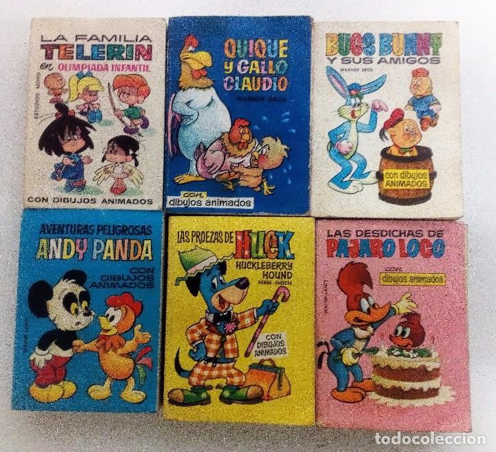 TELEINFANCIA BRUGUERA LOTE DE 6 EJEMPLARES. 1965-1966 VER FOTOGRAFÍAS Y DESCRIPCIÓN (Tebeos y Comics - Bruguera - Otros)