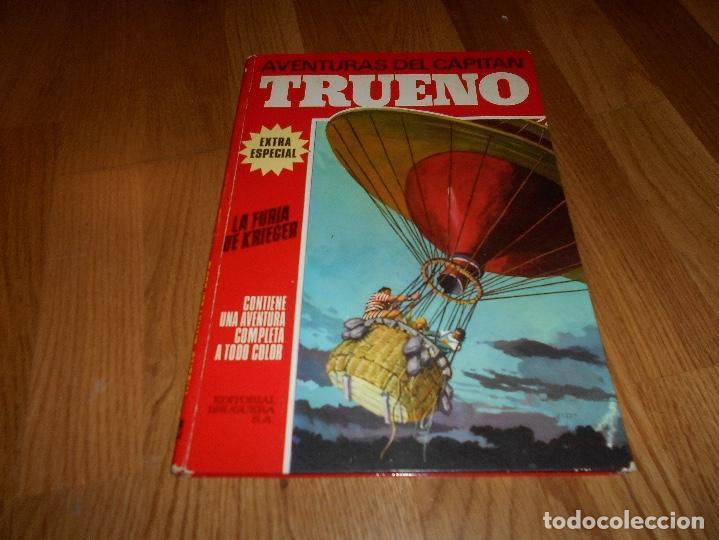 AVENTURAS DEL CAPITÁN TRUENO EXTRA ESPECIAL Nº 4, TAPA DURA, EDITORIAL BRUGUERA, AÑO 1970 (Tebeos y Comics - Bruguera - Capitán Trueno)