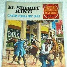 Tebeos: EL SHERIFF KING Nº 14 BRUGUERA 1975 DE 20 PESETAS - BUEN ESTADO. Lote 104032195