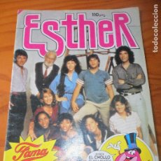 Tebeos: ESTHER Nº 108 FAMA - POSTER: MIGUEL BOSE - BRUGUERA. Lote 104184335