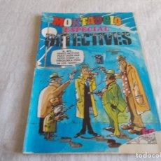 Tebeos: MORTADELO ESPECIAL Nº 40 DETECTIVES AÑO 1978. Lote 104210387