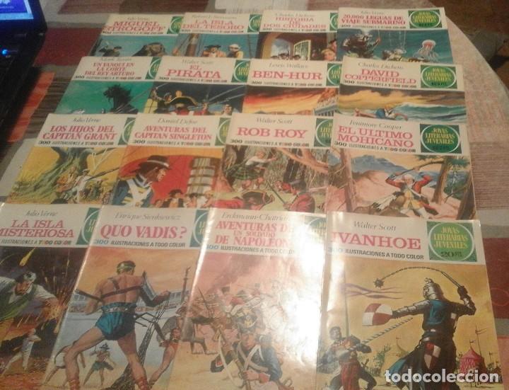 Tebeos: Lote de 125 números de Joyas Literarias Juveniles, ver números en la descripción y fotos - Foto 2 - 104218659