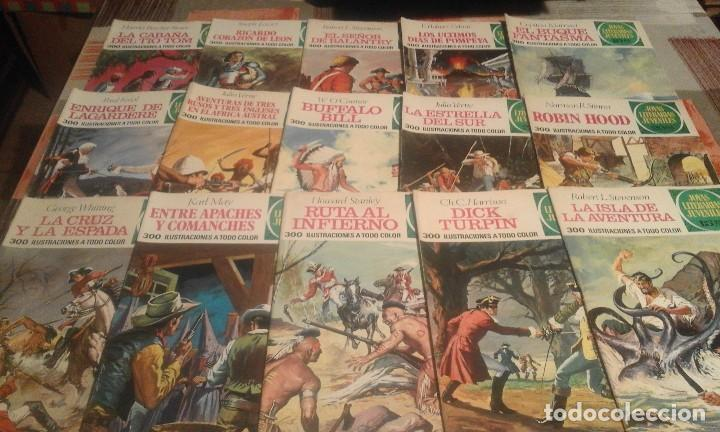 Tebeos: Lote de 125 números de Joyas Literarias Juveniles, ver números en la descripción y fotos - Foto 3 - 104218659