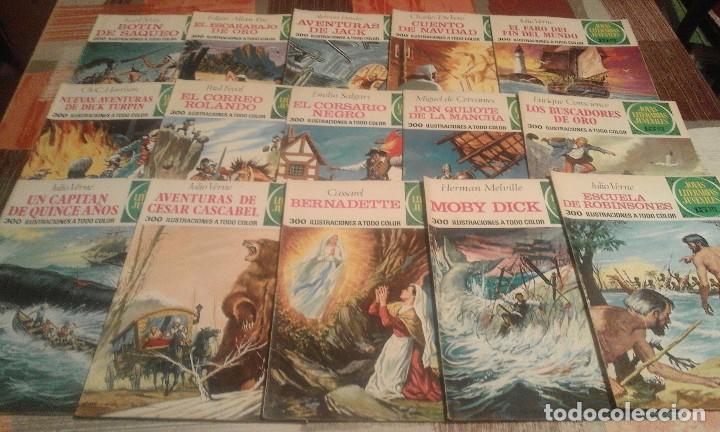 Tebeos: Lote de 125 números de Joyas Literarias Juveniles, ver números en la descripción y fotos - Foto 6 - 104218659