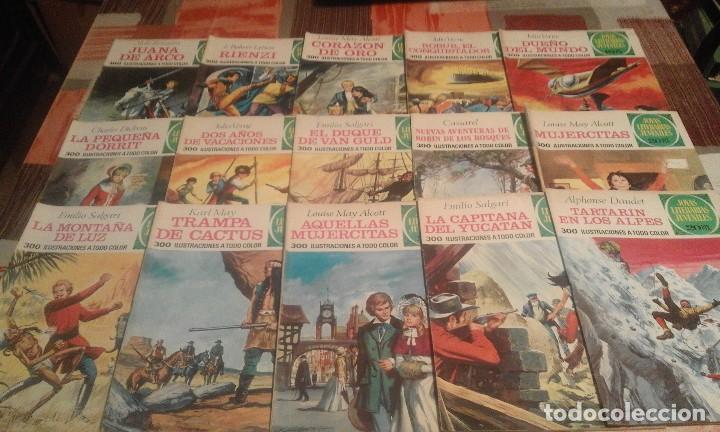Tebeos: Lote de 125 números de Joyas Literarias Juveniles, ver números en la descripción y fotos - Foto 7 - 104218659