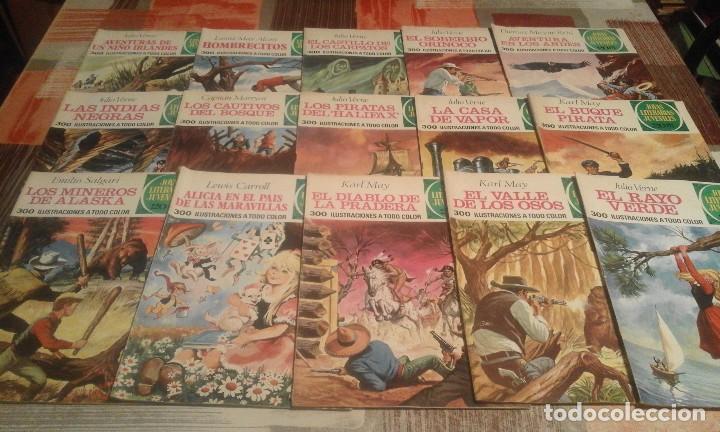 Tebeos: Lote de 125 números de Joyas Literarias Juveniles, ver números en la descripción y fotos - Foto 8 - 104218659