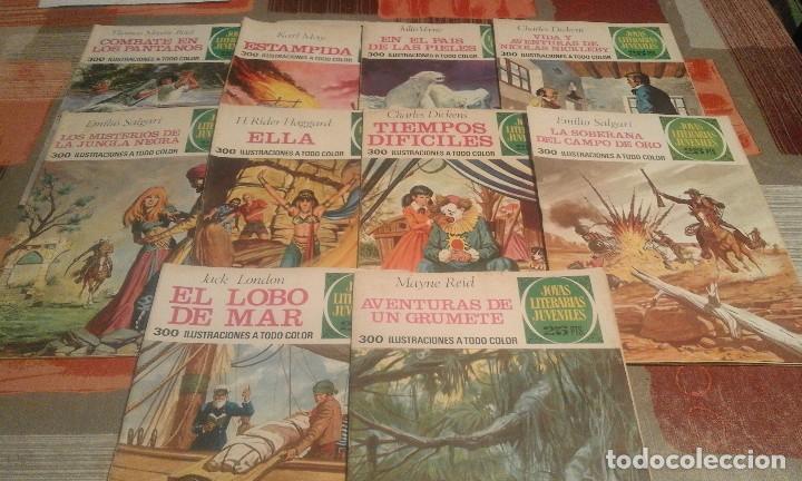 Tebeos: Lote de 125 números de Joyas Literarias Juveniles, ver números en la descripción y fotos - Foto 9 - 104218659