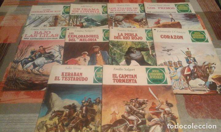 Tebeos: Lote de 125 números de Joyas Literarias Juveniles, ver números en la descripción y fotos - Foto 10 - 104218659