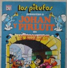 Tebeos: LOS PITUFOS Nº 16. LA VERDADERA HISTORIA DEL PEQUEÑO PIRLUIT. 1ª EDICIÓN. 1983. Lote 104241335
