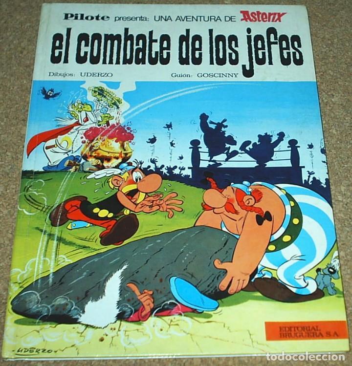ASTERIX PILOTE , EL COMBATE DE LOS JEFES, BRUGUERA 1969 - PERFECTO SIN LEER (Tebeos y Comics - Bruguera - Otros)