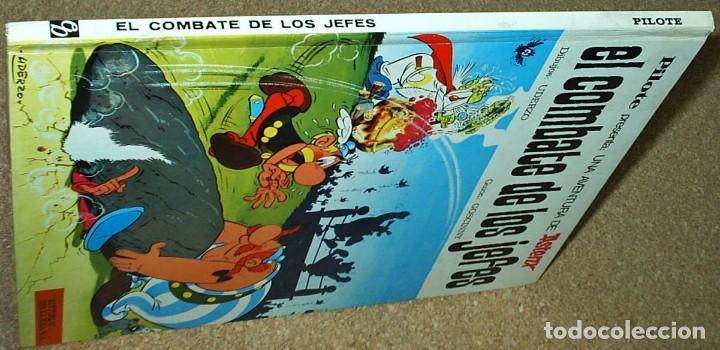 Tebeos: ASTERIX PILOTE , EL COMBATE DE LOS JEFES, BRUGUERA 1969 - PERFECTO SIN LEER - Foto 2 - 104288219