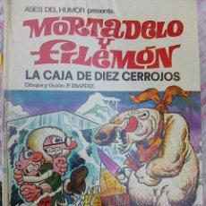 Tebeos: MORTADELO Y FILEMÓN . LA CAJA DE DIEZ CERROJOS (ASES DEL AMOR BRUGUERA, 1971) IBAÑEZ TAPA DURA. Lote 104358683