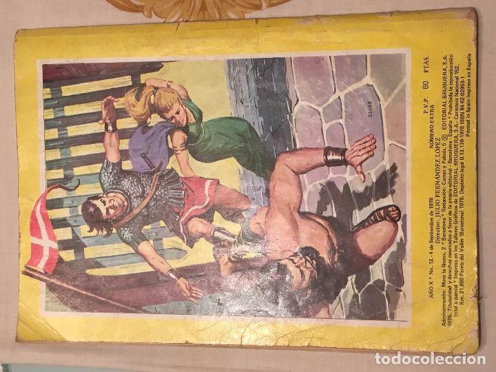 Tebeos: Jabato Color superaventuras EXTRA La isla de Raa nº 12 tercera época Editorial Bruguera 4-09-1978 - Foto 2 - 104493731