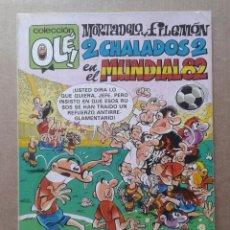Tebeos: MORTADELO Y FILEMÓN: 2 CHALADOS 2 EN EL MUNDIAL 82. COLECCIÓN OLÉ! N° 242. BRUGUERA, 1982.. Lote 104587999