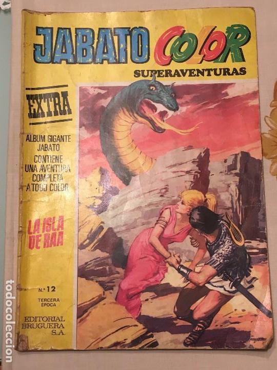 JABATO COLOR SUPERAVENTURAS EXTRA LA ISLA DE RAA Nº 12 TERCERA ÉPOCA EDITORIAL BRUGUERA 4-09-1978 (Tebeos y Comics - Bruguera - Jabato)