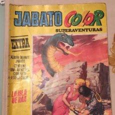 Tebeos: JABATO COLOR SUPERAVENTURAS EXTRA LA ISLA DE RAA Nº 12 TERCERA ÉPOCA EDITORIAL BRUGUERA 4-09-1978. Lote 104493731