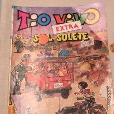 Tebeos: TIO VIVO EXTRA SOL SOLETE Nº 61 SEPTIEMBRE 1984 EDITORIAL BRUGUERA. Lote 104495203