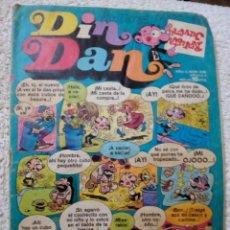 BDs: DIN DAN, EDITORIAL BRUGUERA, 1974. Lote 104986951