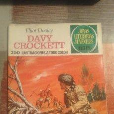 Tebeos: DAVY CROCKETT - ELLIOT DOOLEY - JOYAS LITERARIAS JUVENILES Nº 41. Lote 105050003