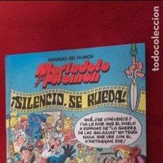 Tebeos: SILENCIO, SE RUEDA - GRANDES DEL HUMOR 18 - IBÁÑEZ - CARTONE. Lote 105083051