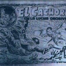 Tebeos: FOTOLITO PORTADA COMIC EL CACHORRO. Lote 105095003