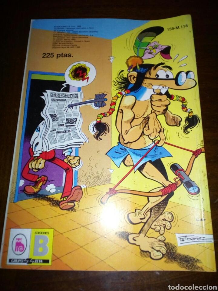 Tebeos: Mortadelo y filemon, coleccion olé, editorial bruguera 1988 - Foto 2 - 105097708