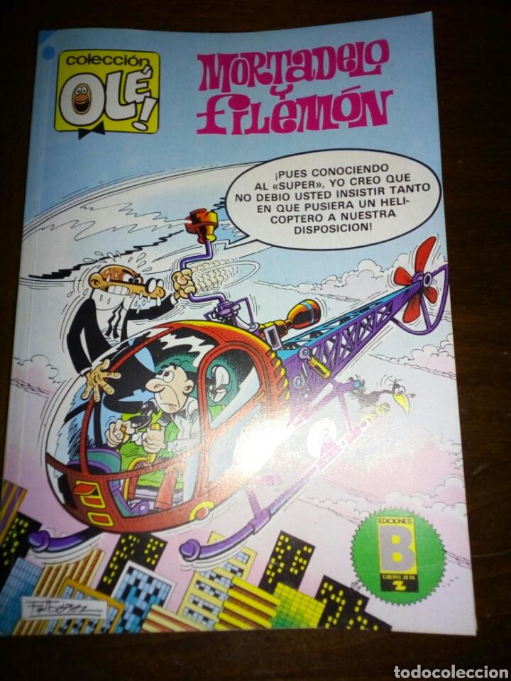 MORTADELO Y FILEMON, COLECCION OLÉ, EDITORIAL BRUGUERA, 1988 (Tebeos y Comics - Bruguera - Ole)