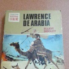 Tebeos: LAWRENCE DE ARABIA COLECCION HISTORIAS COLOR EDITORIAL BRUGUERA 1972. Lote 105102543