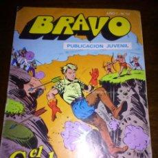 Tebeos: COMIC BRAVO, EL CACHORRO,BRUGUERA AÑO I, 1976. Lote 105124812