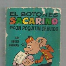 Tebeos: MINI INFANCIA Nº 142. EL BOTONES SACARINO EN UN POQUITIN DE RUIDO. ED. BRUGUERA, 1972. 1ª EDICION. Lote 105127671