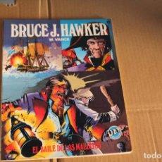 Livros de Banda Desenhada: BRUCE J.HAWKER, RÚSTICA, COLECCIÓN JET BRUGUERA Nº 12, EDITORIAL BRUGUERA. Lote 105183023