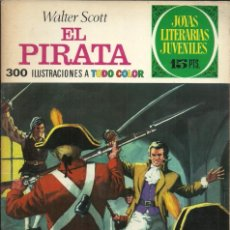 Tebeos: JOYAS LITERARIAS JUVENILES - Nº 6: EL PIRATA - W. SCOTT - EDITORIAL BRUGUERA - 1970. Lote 105195759