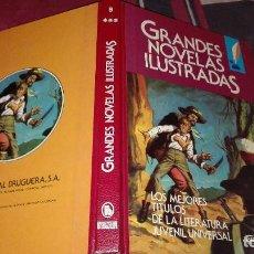 Tebeos: GRANDES NOVELAS ILUSTRADAS Nº9 1ªEDICION 1985. Lote 105326439