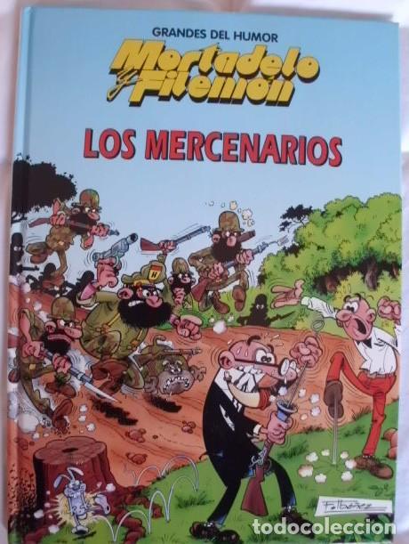 MORTADELO Y FILEMON TOMO DE TAPA DURA LOS MERCENARIOS (Tebeos y Comics - Bruguera - Mortadelo)