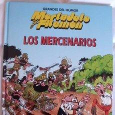 Tebeos: MORTADELO Y FILEMON TOMO DE TAPA DURA LOS MERCENARIOS. Lote 112367890