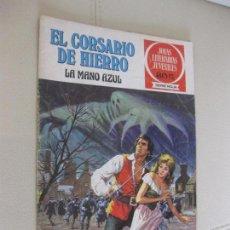 Tebeos: EL CORSARIO DE HIERRO Nº 1 -LA MANO AZUL - BRUGUERA. Lote 105340675