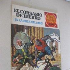 Tebeos: EL CORSARIO DE HIERRO -EN LA BOCA DEL LOBO - BRUGUERA. Lote 105340775
