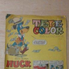 Tebeos: 1 REVISTA ** TELE COLOR ** Nº 42 BRUGUERA 1963. Lote 105358511
