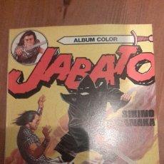 Tebeos: ALBUM COLOR JABATO N.- 12. SIKING TAKANAKA. COMO NUEVO. Lote 105361591