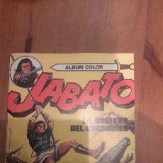 Tebeos: ALBUM COLOR JABATO N.- 9. LA SOMBRA DEL COCODRILO. COMO NUEVO. Lote 105362326