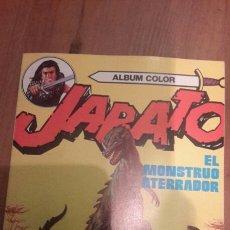 Tebeos: ALBUM COLOR JABATO N.- 10. EL MONSTRUO ATERRADOR. COMO NUEVO. Lote 105362547