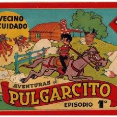 Tebeos: AVENTURAS DE PULGARCITO EPISODIO 1º -ORIGINAL- AÑO 1944.. Lote 105540207