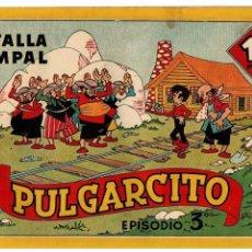 Tebeos: AVENTURAS DE PULGARCITO EPISODIO 3º -ORIGINAL- AÑO 1944. MUY BUENO.. Lote 105541151